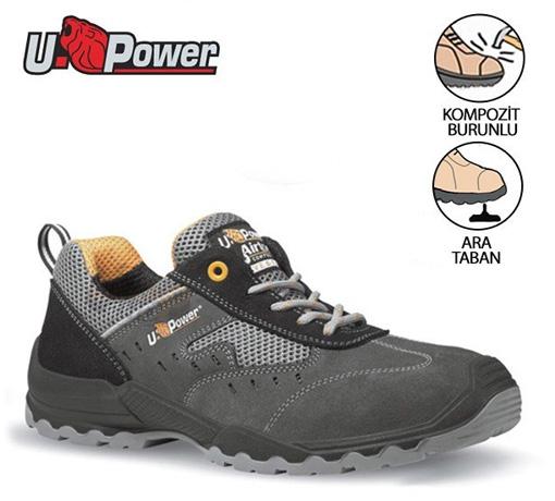 İş Ayakkabısı Upower Brezza S1P SRC içerik