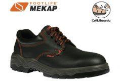 Mekap İş Ayakkabısı 022 Çelik Burunlu Siyah
