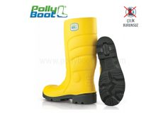 Polly Boot Çizme Galaxy 301 Sarı Çelik Burunsuz
