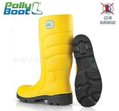 Polly Boot İş Çizmesi Glaxy 301 Sarı Çelik Burunsuz içerik